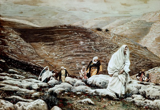 Jesus Goes Up to Jerusalem