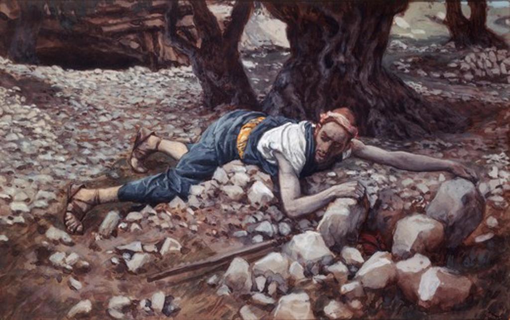 Stock Photo: 999-9973 The Hidden Treasure James Tissot (1836-1902 French)