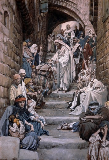 Stock Photo: 999-9978 All the City Was Gathered Together